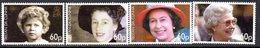 Tristan Da Cunha 2006 Queen's 80th Birthday Set Of 4, MNH, SG 860/3 - Tristan Da Cunha