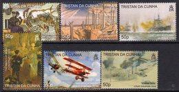 Tristan Da Cunha 2008 90th Anniversary Of End Of WWI Set Of 6, MNH, SG 925/30 - Tristan Da Cunha