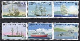 Tristan Da Cunha 2009 Seafaring & Exploration Set Of 6, MNH, SG 932/7 - Tristan Da Cunha