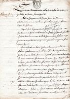 SEINE INFERIEURE -ACTE DE ROUEN 27 Vendemiaire AN 4.-3 Pages - Cachets Généralité