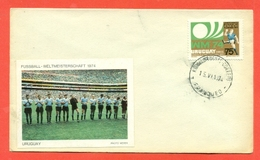 SPORT- CALCIO - CAMPIONATO DEL MONDO 1974 -URUGUAY - - Uruguay