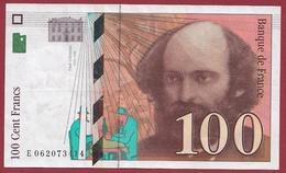 "100 Francs ""Cézanne"" 1998-XF/SUP+----n °E062073414 - 1992-2000 Ultima Gama"