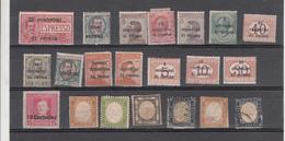 L Italie  Lot De Timbres   Charnières X - Collections