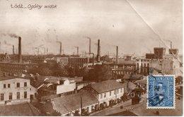 Pologne LODZ - Ogolny Widok  Circulé 1929 - Poland