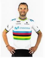 CYCLISME: CYCLISTE : ALEJANDRO VALVERDE  ( NON OFFICIELLE ) - Ciclismo