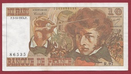 "10 Francs ""Berlioz"" Du 07/02/1974.O---F/TTB+----ALPH.R.27 - 1962-1997 ''Francs''"