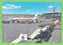FIUMICINO / AEROPORTO DI ROMA / * LEONARDO DA VINCI... Carte écrite En 1971 - Fiumicino