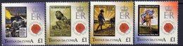 Tristan Da Cunha 2014 WWI Propaganda Posters Set Of 4, MNH, SG 1109/12 - Tristan Da Cunha