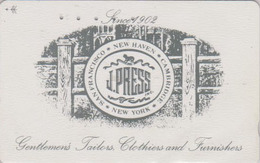 Télécarte Ancienne Japon / 110-011 - PRESSE - J PRESS NEW YORK SAN FRANCISCO USA CAMBRIDGE - Japan Phonecard - 09 - Advertising