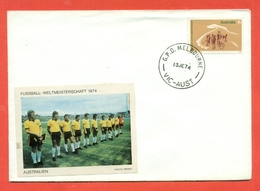 SPORT- CALCIO - CAMPIONATO DEL MONDO- 1974 - AUSTRALIA - 1966-79 Elizabeth II
