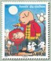 N° 5296** Année Du Cochon - Nuevos