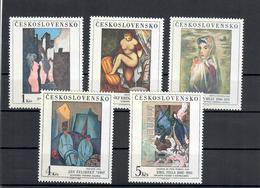 CECOSLOVACCHIA 1982 - ARTE - QUADRI - MNH ** - Nuovi