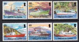 Tristan Da Cunha 2004 Merchant Ships Set Of 6, MNH, SG 805/10 - Tristan Da Cunha