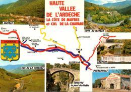 Haute Vallée De L'Ardeche : La Côte De Mayres Et Col De La Chavade En Multivues - Sin Clasificación