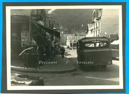Chamonix * Rue De La Gare, Boutique Souvenirs, Bus * Photo 12 X 17cm Vers 1935 - Places