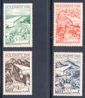 MAROC / PA N° 70 à 73 Neufs ** - Maroc (1891-1956)
