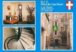 Annecy - H.C.F Hotel Du Coin Fleuri        D 708 - Annecy