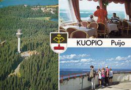 1 AK Finnland * Der Puijo-Turm - 1963 Erbaut - Ein 75 Meter Hoher Fernsehturm In Der Stadt Kuopio * - Finnland
