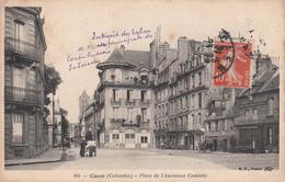CAEN : Place De L'Ancienne Comédie En 1912 - Caen
