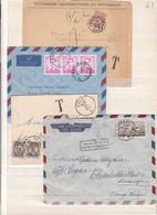 Belgique  Lot De 4 Enveloppes   Voir Scan - Belgium