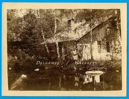 Chamonix * Lac De L'Anglais, Chalet * Photo 8 X 11cm Vers 1910 - Places