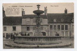 - CPA FISMES (51) - Fontaine Monumentale - Place Lamotte 1916 (avec Personnages) - Edition C. G. N° 10 - - Fismes