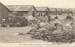 Dpts Div.-ref-AK821- Gironde - Camp Militaire Du Courneau - Les Baraquements - Camps Militaires - Militaria - - France