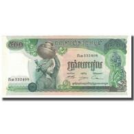 Billet, Cambodge, 500 Riels, KM:16a, NEUF - Cambodge
