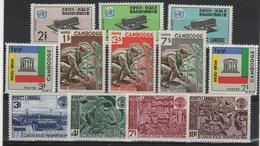 CGE 28 - CAMBODGE N° 172/183 Neufs** - Cambogia
