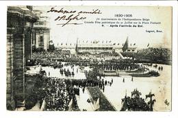 CPA- Carte Postale -Belgique-Bruxelles-75me Anniversaire De L'indépendance De La Belgique 1905-VM5158 - Fêtes, événements