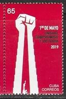 CELEBRATIONS, 2019, MNH,  WORKERS, 1st MAY,1v - Celebrations