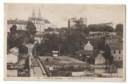 CPA Saint-Lo - La Passerelle Sur La Vire Animé Etat Voir Scan - Saint Lo
