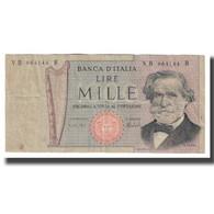 Billet, Italie, 1000 Lire, KM:101d, TB - [ 2] 1946-… : République