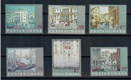 ROMANIA 1972 - UNESCO SALVIAMO VENEZIA - QUADRI - MNH** - 1948-.... Repubbliche