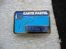 Pin's Carte Pastel Nationale De Chez France TELECOM - Postes