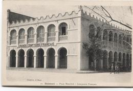Djibouti Jabuuti  جيبوتي Jībūtī - Place Menelick - Grands Comptoir Français - Cliché A Di Bona - Gibuti