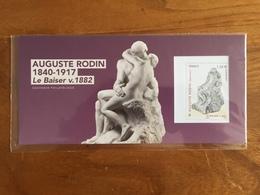 Souvenir Philatélique AUGUSTE RODIN - Le Baiser V. 1882 Y&T BS137 - 2017 - Neuf Sous Blister - Blocs Souvenir