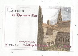 JC , Billet , Fictif , Bon D'achat Remboursable,1,5 Euro,1996, THORONET BAR , 83, Var,  3 Scans - Fictifs & Spécimens