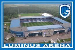 CARTE DE STADE .  GENK  BELGIQUE   LUMINUS  ARENA  # CS. 086 - Football