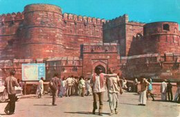 INDIA-AMAR SINGH GATE,AGRA FORT- NON VIAGGIATA     FG - India