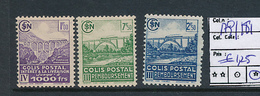 FRANCE CF YVERT 179/181 LH - Colis Postaux