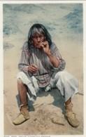 Native American Moki Indian Smokes Cigarette C1910s Vintage Postcard - Native Americans