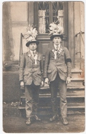 ALSACE. CARTE PHOTO. CONSCRITS. A SITUER. - Personnes Anonymes