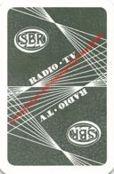 SBR - Radio Tv - 1 Joker Kaart/carte/card - Cartes à Jouer Classiques