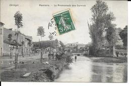 FRANCE CPA  PAMIERS LA PROMENADE DES CARMES - Pamiers