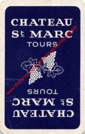 Château St Marc - Tours - 1 Joker Kaart/carte/card - Cartes à Jouer Classiques