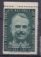 Timbre Erinnophilie  Comitato Nazionale Pro Vittime Politiche Don.G Morosini - Erinnophilie