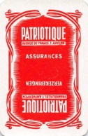 PATRIOTIQUE Verzekeringen Assurances - Frankrijklei Antwerpen - 1 Joker Kaart/carte/card - Cartes à Jouer Classiques