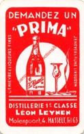 Distillerie Leon Leynen - Molenpoort Hasselt - Prima - 1 Speelkaart - 1 Carte à Jouer - 1 Playing Card. - Speelkaarten