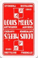 Stokerij LOUIS MEEUS Distillerie - Antwerpen - 1 Speelkaart - 1 Carte à Jouer - 1 Playing Card. - Cartes à Jouer Classiques